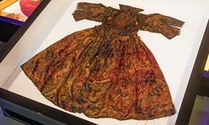 The 400-year-old dress.