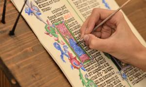 Drolleries were common in medieval manuscripts.