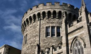 Medieval tower, Dublin Castle, Ireland          Source: Tupungato/ Adobe Stock