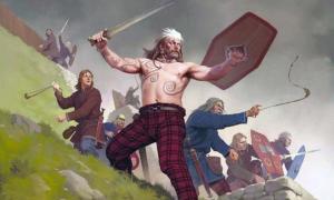 Ancient Britons by Nicholas Subkov.