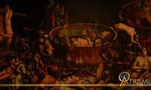 Hell - Unknown Master - Portugal - 1st third of 16th century. Museu Nacional de Arte Antiga