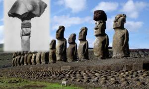 Easter Island statues by Honey Hooper, Fig. 92. Obsidian Spear-heads