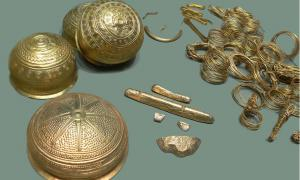 The Eberswalde Hoard: Golden Treasure