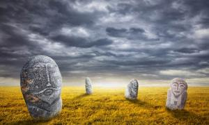 The Eerie Balbal Statues of the Eurasian Steppe