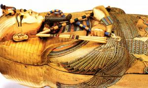 Tutankhamum's Golden Coffin