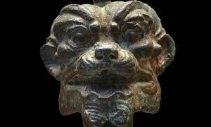 Bronze head of Pazuzu, 900-612 BC – Public Domain