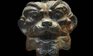 Bronze head of Pazuzu, 900-612 BC – Public Domain