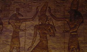 Seth (Set)Left, and Horus