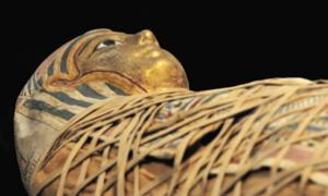 Representation of sarcophagus of Princess Hatshepset. Source: Denis Doukhan / Public Domain.