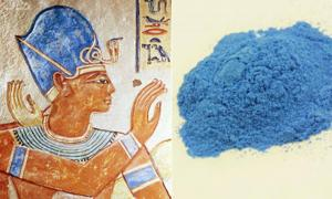 Ancient Egyptian pigment provides modern forensics with new coat of paint