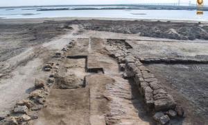 The ancient Egyptian shipyard at Tel Abu Saifi, Sinai, Egypt.