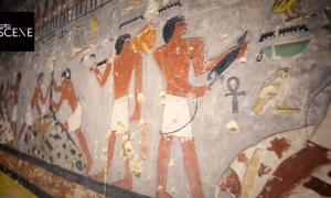 4300-Year-Old Egyptian Tomb Discovered in Saqqara Hold Keys to Secrets of World's First Alchemists