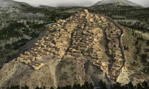 3D Reconstruction of the El Argar civilization's La Bastida site.           Source: Dani Méndes, Revives / Eureka