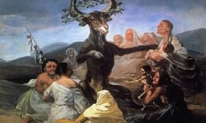 Francisco Goya, Witches' Sabbath (El aquelarre).