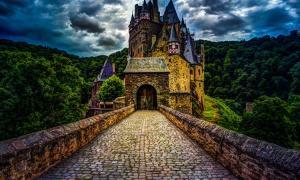 Eltz Castle in Rhineland-Palatinate, Germany.