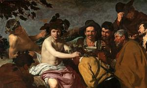 'The Triumph of Bacchus' (1628-1629) by Diego Velázquez.