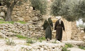 Two disciples saw Jesus after his resurrection on the road to Emmaus. Source: icksanglee / Adobe Stock.