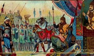Sultan Bayezid is defeated by Timur at Ankara