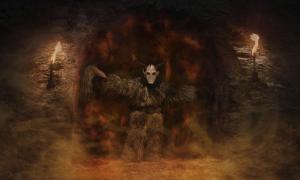 Ancient demon. Credit: pixelleo / Adobe Stock