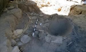 Excavation, Cosma, Peru