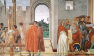 Tracing the Fall of Simon Magus to Ariccia, Rome