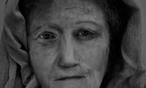A digital reconstruction of 'Hilda', the female druid, by MSc Forensic Art student Karen Fleming. Source: University of Dundee.