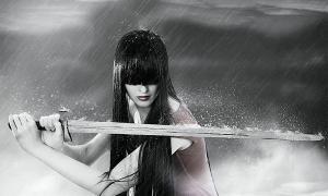 Representation of a Mongol female warrior / the legendary Mulan.   Source: katalinks / Adobe stock