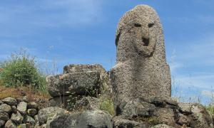 Corsica. The Statue of Filitosa