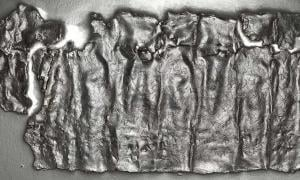 Using Reflectance Transformation Imaging (RTI), this picture of the Antioch tablet was compiled. Source: Paula Artal-Isbrand, conservator at the Princeton Art Museums, with permission of Alexander Hollman