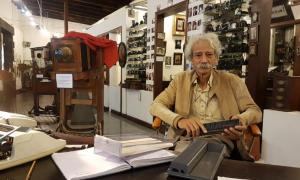 Chevalier Tristan Bréville, owner and curator of the Photography Museum of Mauritius Source: Courtesy Micki Pistorius