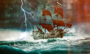 Legend of The Flying Dutchman, A Ghost Ship