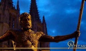 Monument of the pilgrims, Burgos