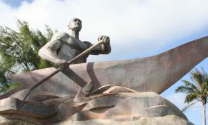 Statue of Chief Gadao