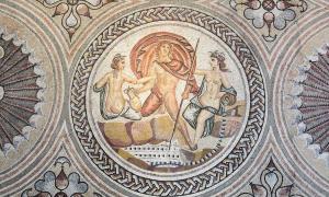 Gallo-Roman mosaic