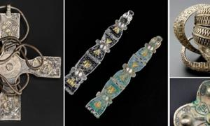 The Galloway Hoard, a rich Viking Age hoard found in Scotland