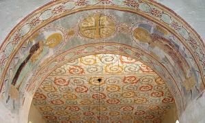 Gärde Church fresco
