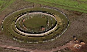 The reconstruction of Ringheiligtum Pömmelte