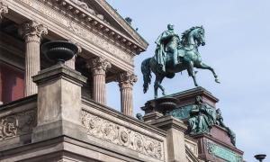 During a mysterious German museum attack, at least 70 priceless artifacts have been damaged on Museum Island in Berlin, a UNESCO World Heritage Site which is made up of the Altes Museum, the Bode-Museum, the Neues Museum, the Pergamon Museum and the Alte Nationalgalerie, seen here. Source: Anna Pakutina / Adobe Stock