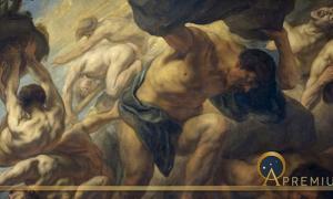 The Fall of the Giants by Jacob Jordaens (1636 – 1638) Museo del Prado (Public Domain)