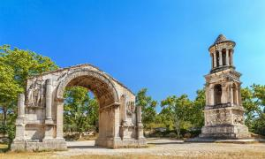Glanum, An Ancient Roman Town in France Renowned for Its Healing Spring