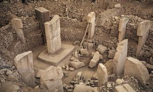 Close-up of the Göbekli Tepe site in central Turkey.    Source: Brian Weed / Adobe stock