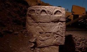 Stone reliefs found at Göbekli Tepe