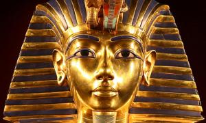 The iconic Golden Mask of Pharaoh Tutankhamun