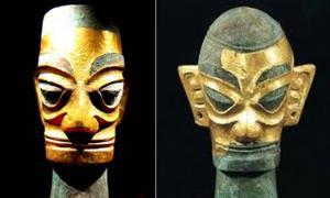 Golden Masks from Sanxingdui