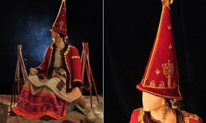 Reconstruction of Golden Woman, the ancient Scythian Princess of Kazakhstan