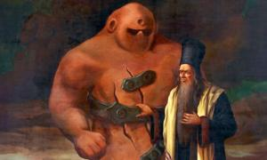 Golem of Prague and Rabbi Loew
