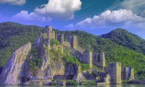 Golubac Fortress, Serbia.