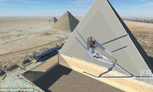 Two Mysterious Cavities Found Inside Great Pyramid May Be Secret Rooms