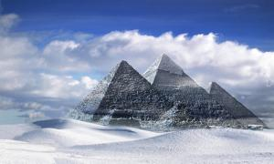 Great Pyramids, located in Giza