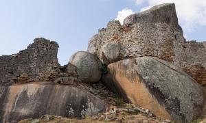 The Great Zimbabwe Ruins.